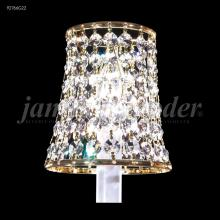 James R Moder 92766G22 - Crystal Clip-on Shade