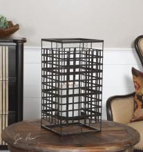 Uttermost 19973 - Uttermost Caged In Metal Candleholder