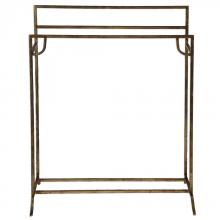 Uttermost 24544 - Uttermost Perico Gold Towel Stand